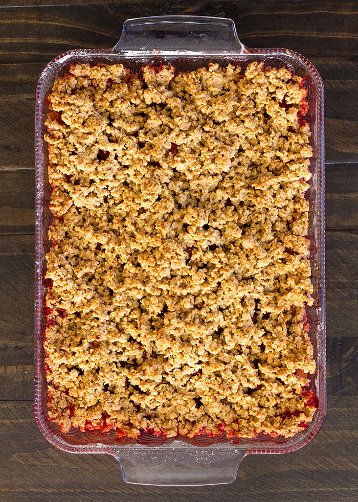 Apple Raspberry Crisp Cooling