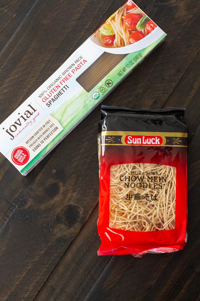 Noodles for root vegetable ramen