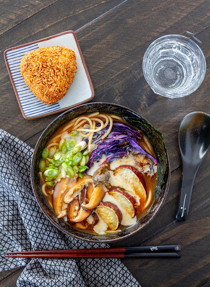 Roasted Root Vegetable Ramen