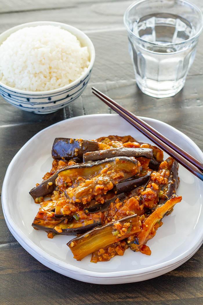 Vegan Mapo Nasu