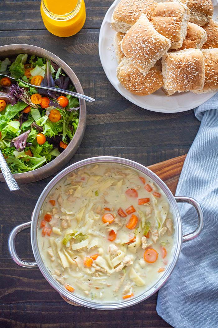 Fuji Vegan Chicken Noodle Soup Dinner