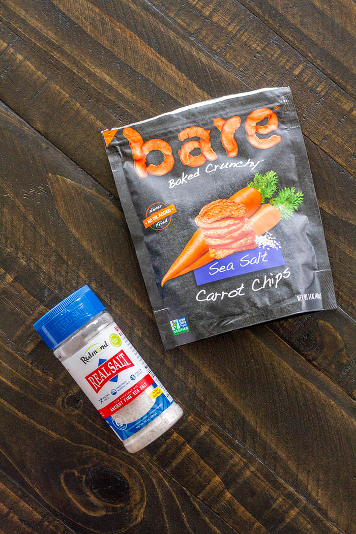 bare Snacks Sea Salt Carrot