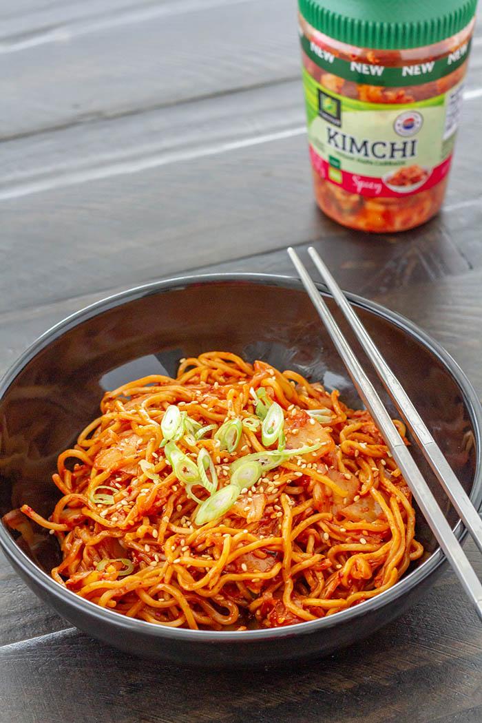 Kimchi Yakisoba