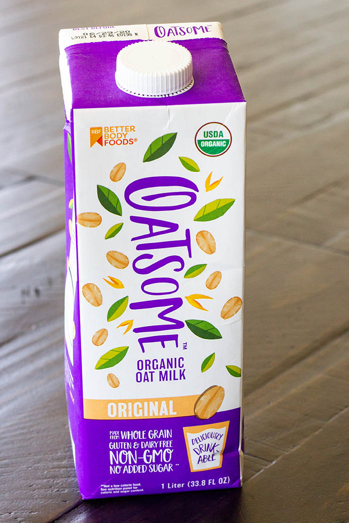 Better Body Foods Oatsome Organic Oat Milk