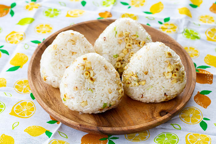 Charred Corn Onigiri
