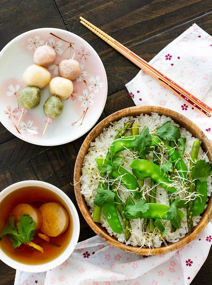 Hinamatsuri food 2020