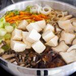Kinoko Nabe or Japanese mushroom hot pot